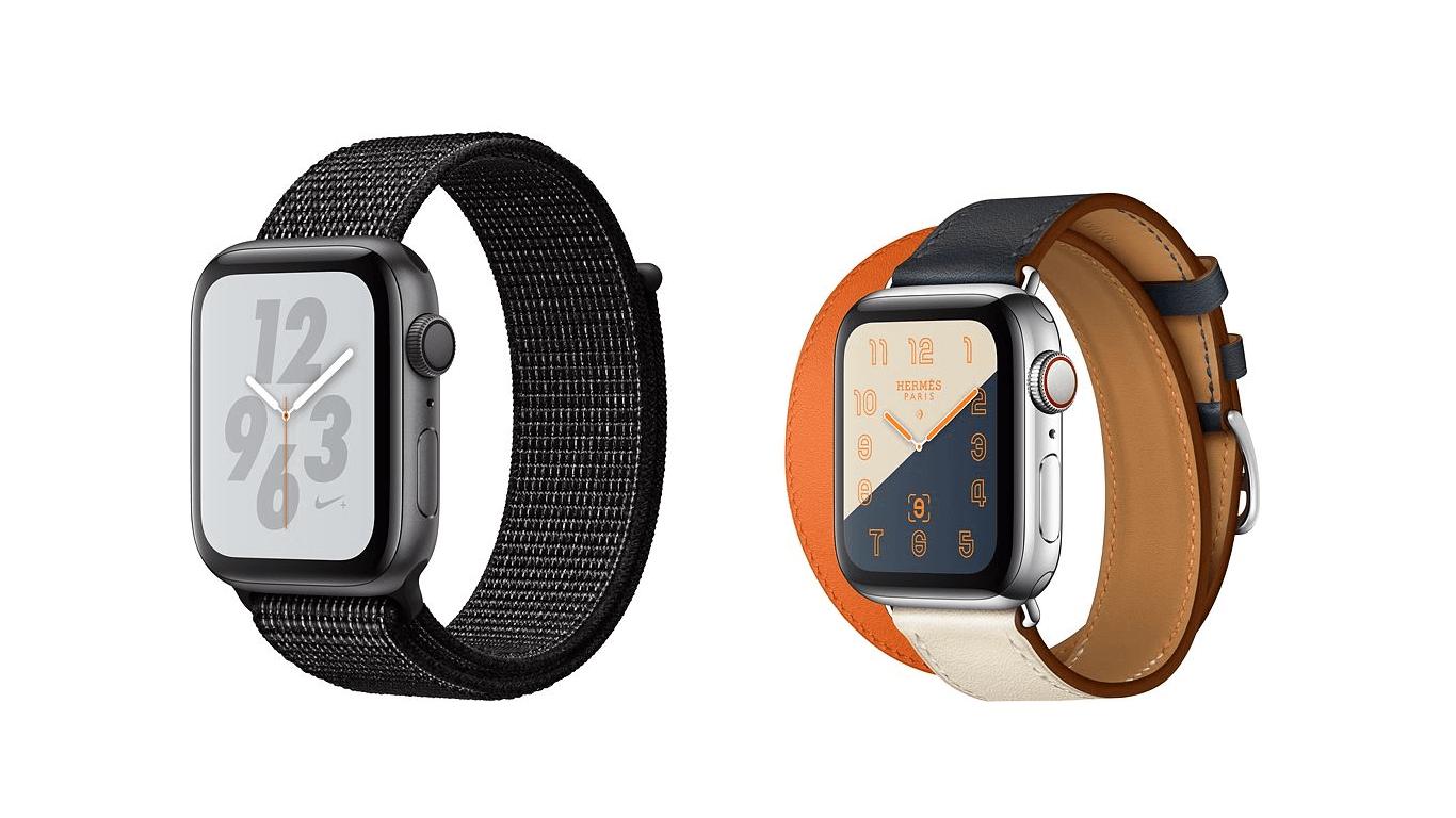 Apple Watch 与 Nike 和 Hermès 合作的版本具有特殊表盘