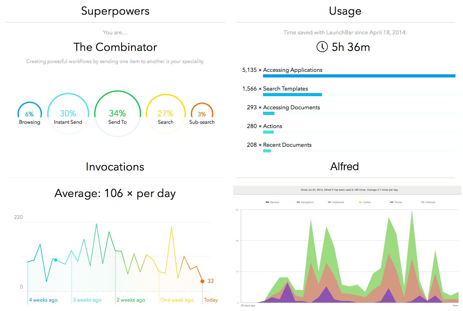 Launcher Statistik