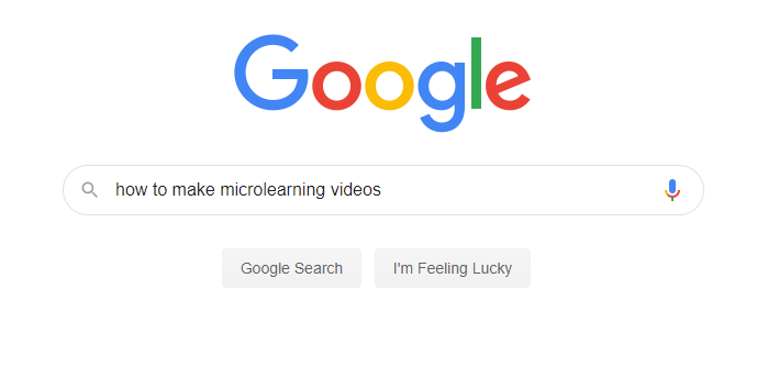Searching how to make microlearning videos