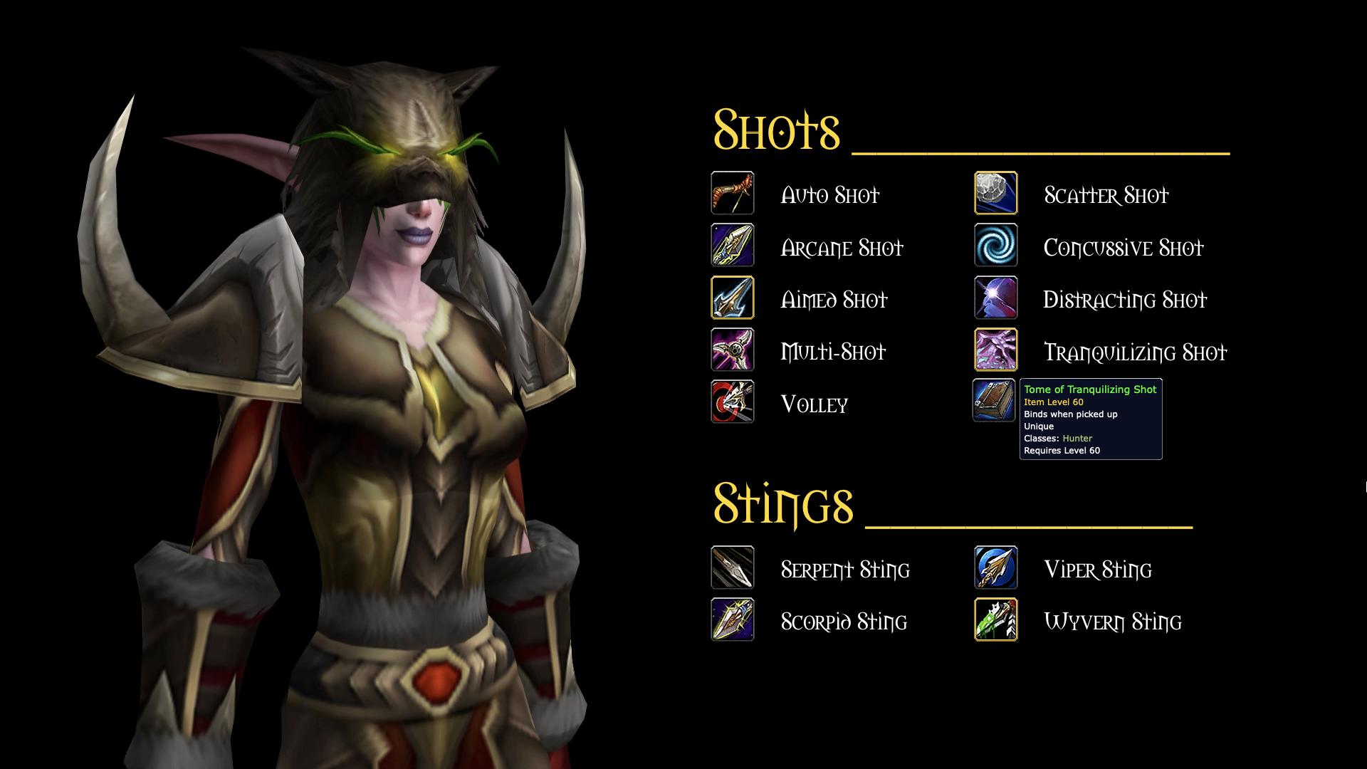 Shots & Stings