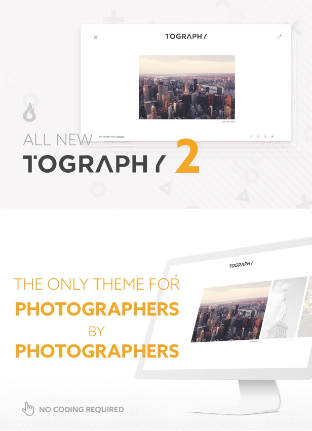 Tography - Photography Theme - 1