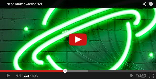 Neon Maker Action Set - 1