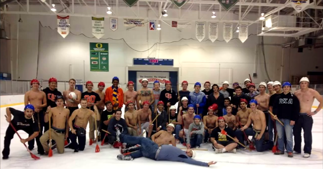 Broomball Hockey