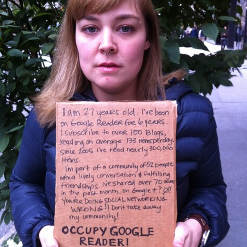Occupy Google Reader