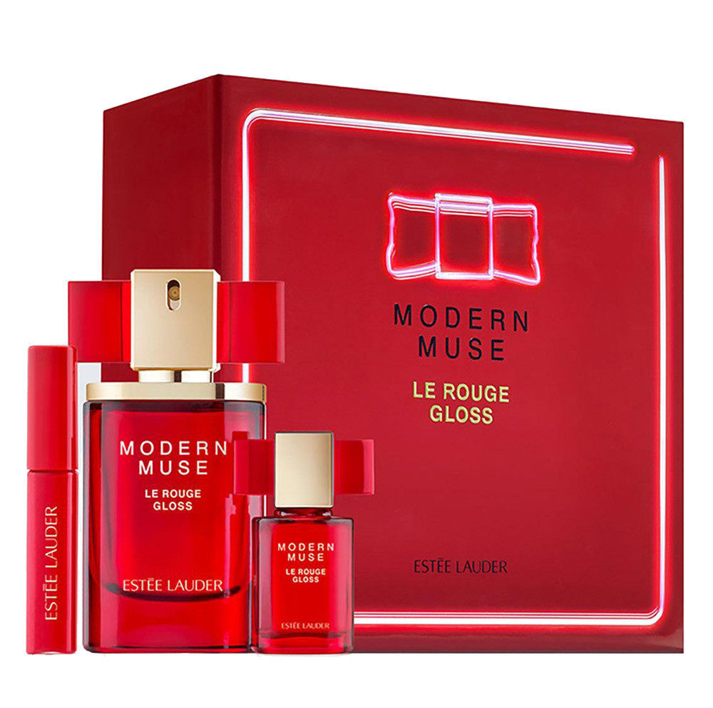 46% Off Estee Lauder 'Modern Muse Le Rouge Gloss' 3-Piece Set New In Box