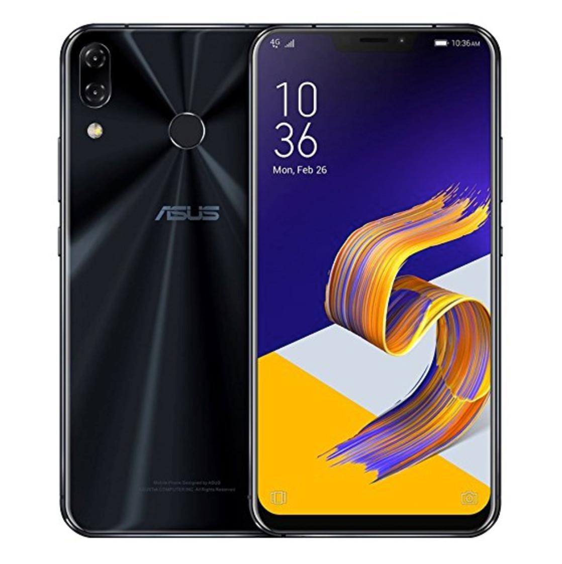 Asus Zenofone 5 - mid-class smartphone black