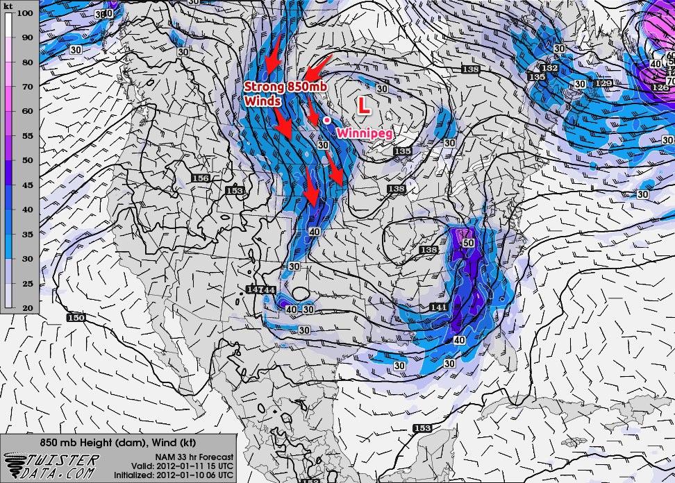2012-01-11 15Z 850 Wind Prog