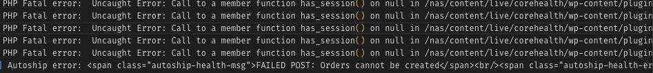 plugin error