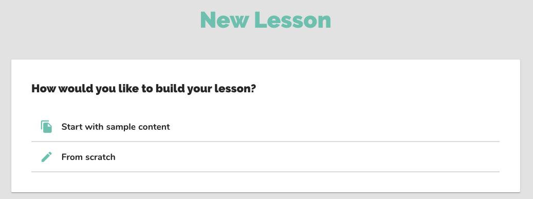 new-lesson