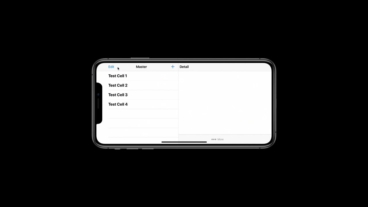 iPhone XS Max 和 iPhone XR 多出的逻辑分辨率带来了横屏 app 支持(来源:苹果)