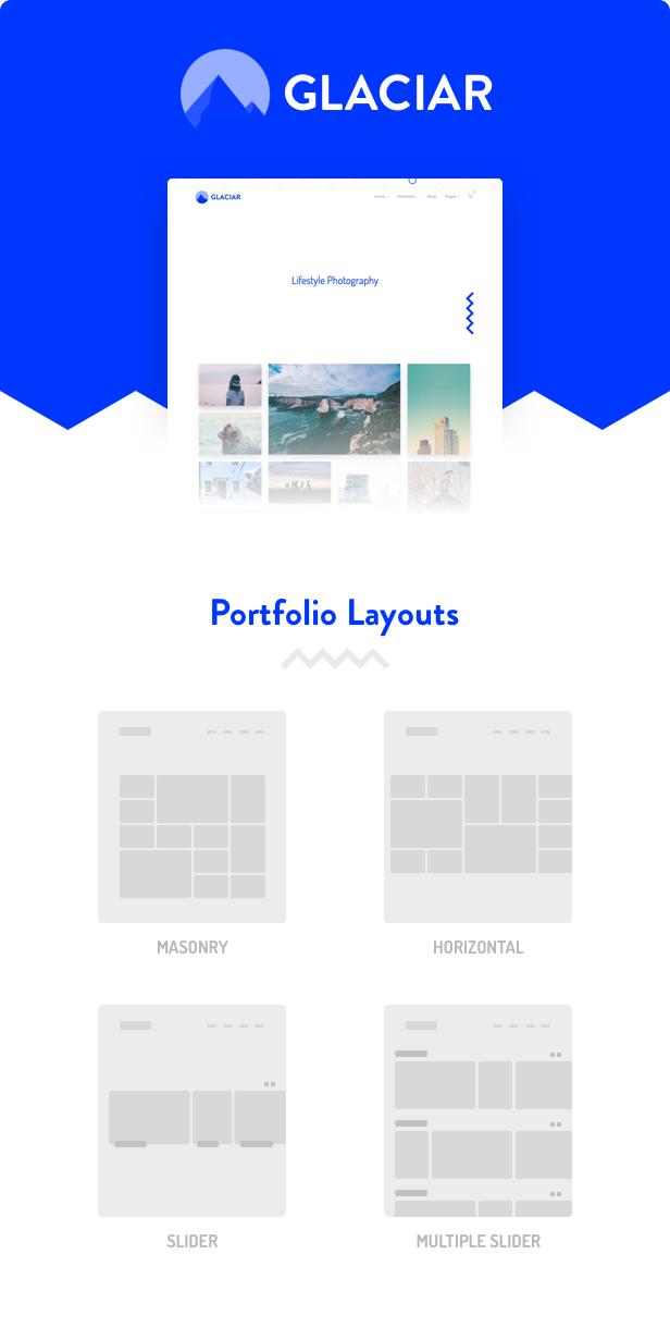 Glaciar - Photography WordPress Theme - 1