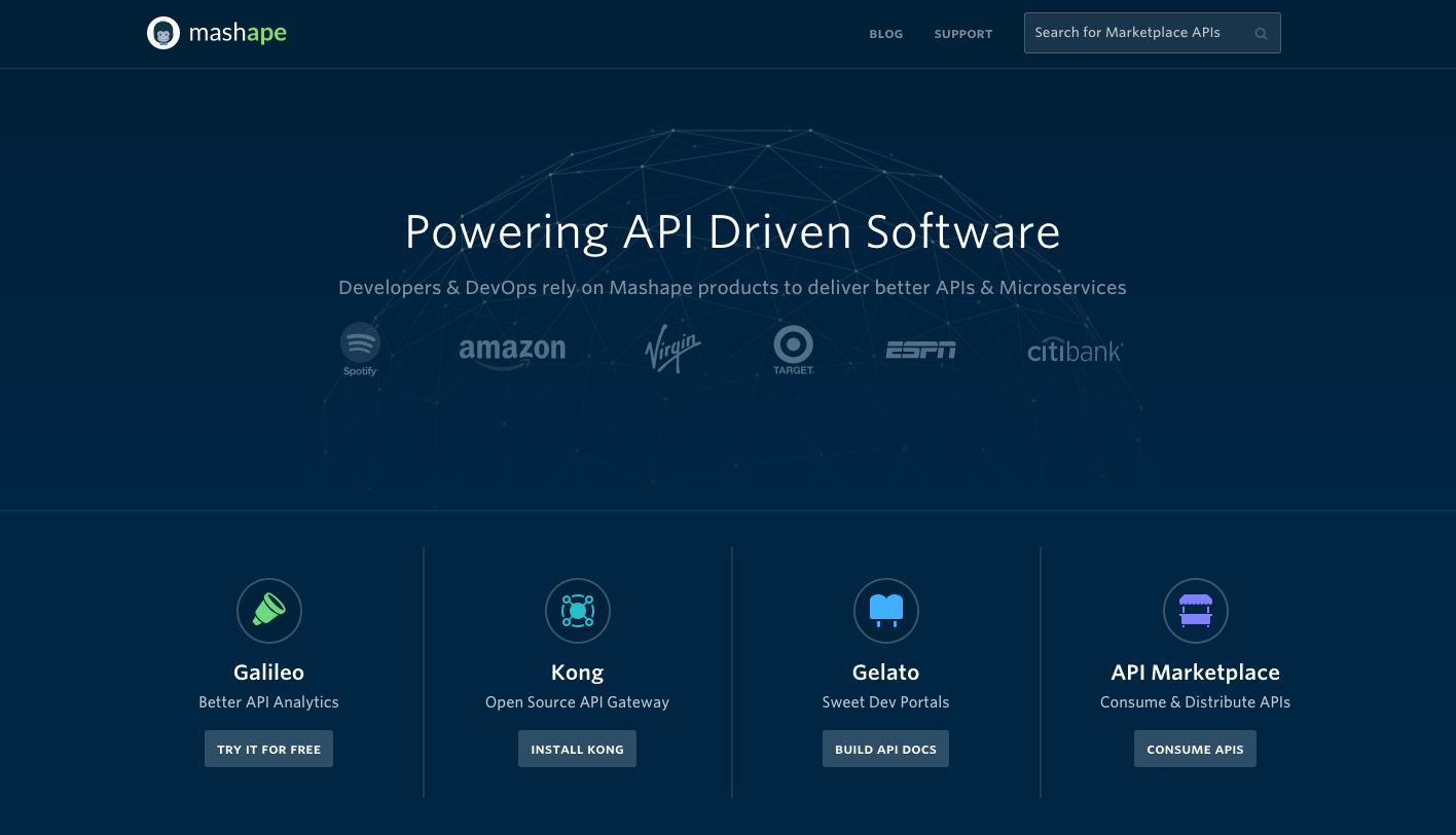Powering API Driven Software graphic