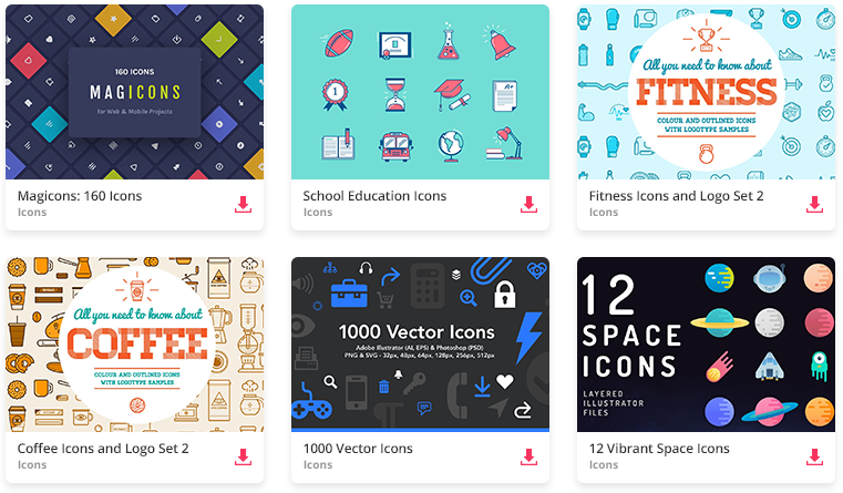 10 Places to Find Beautiful Free SVG Icon Sets