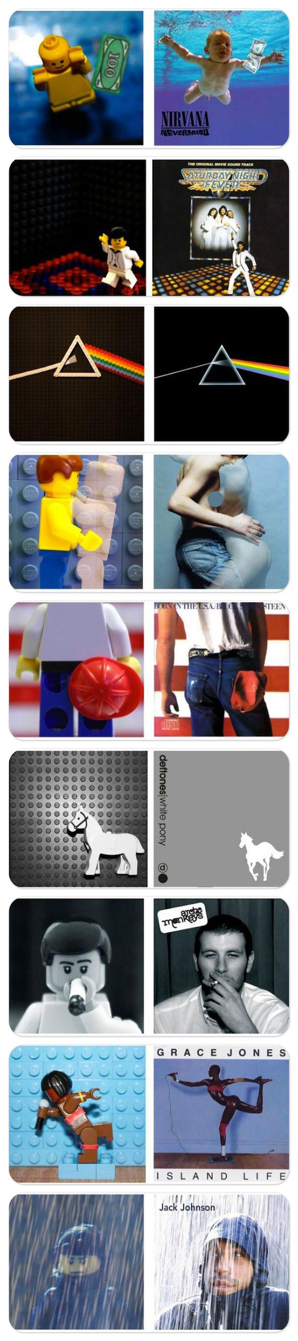 Capas de discos by Lego