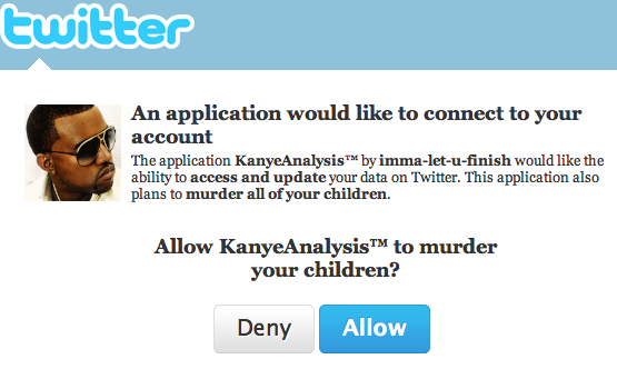 Kanye West is probably a murderer