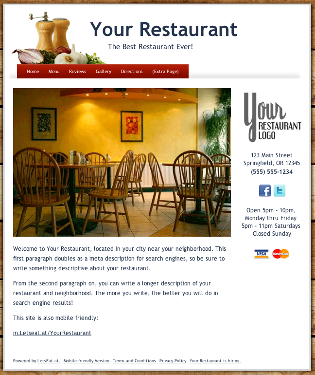 How to Build a Website for your Restaurant