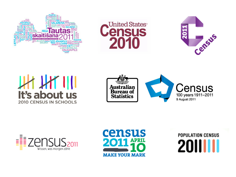 World Census Logos