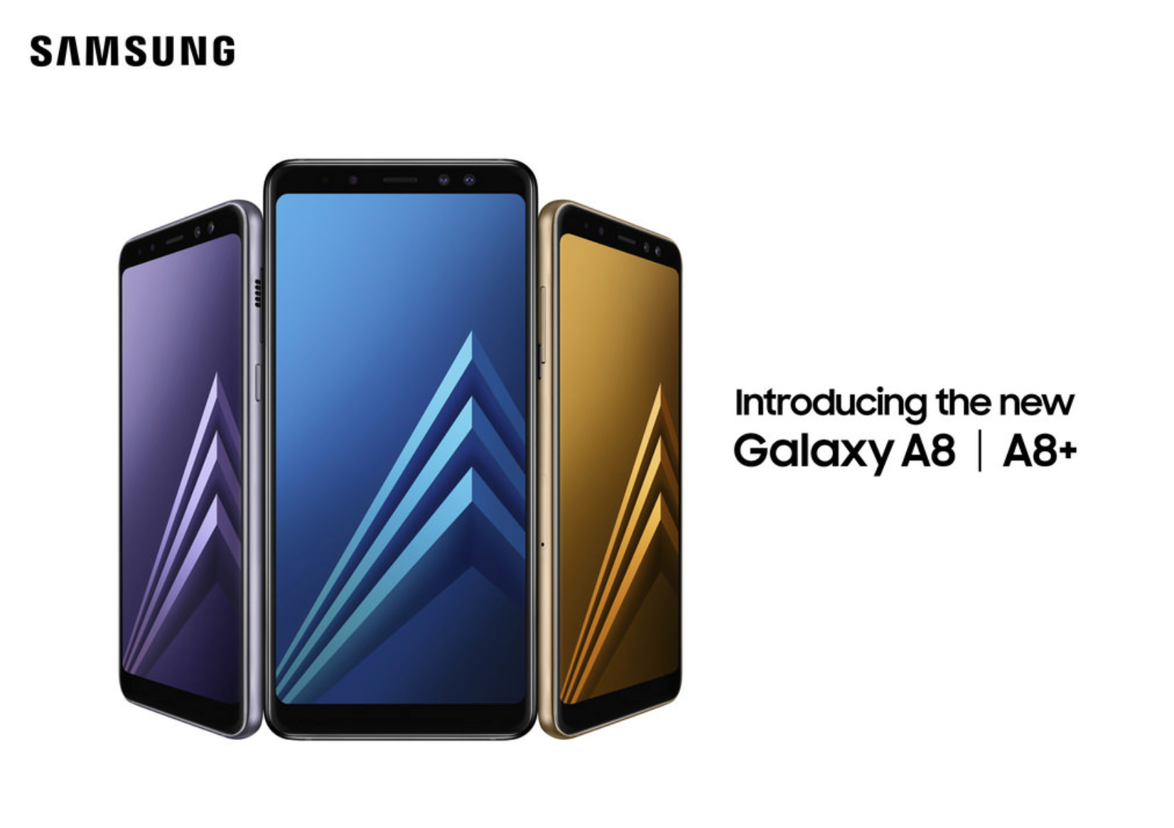 Samsung Galaxy A8+ - best smartphone for 2018-19
