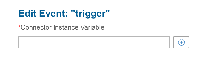 Edit Event trigger