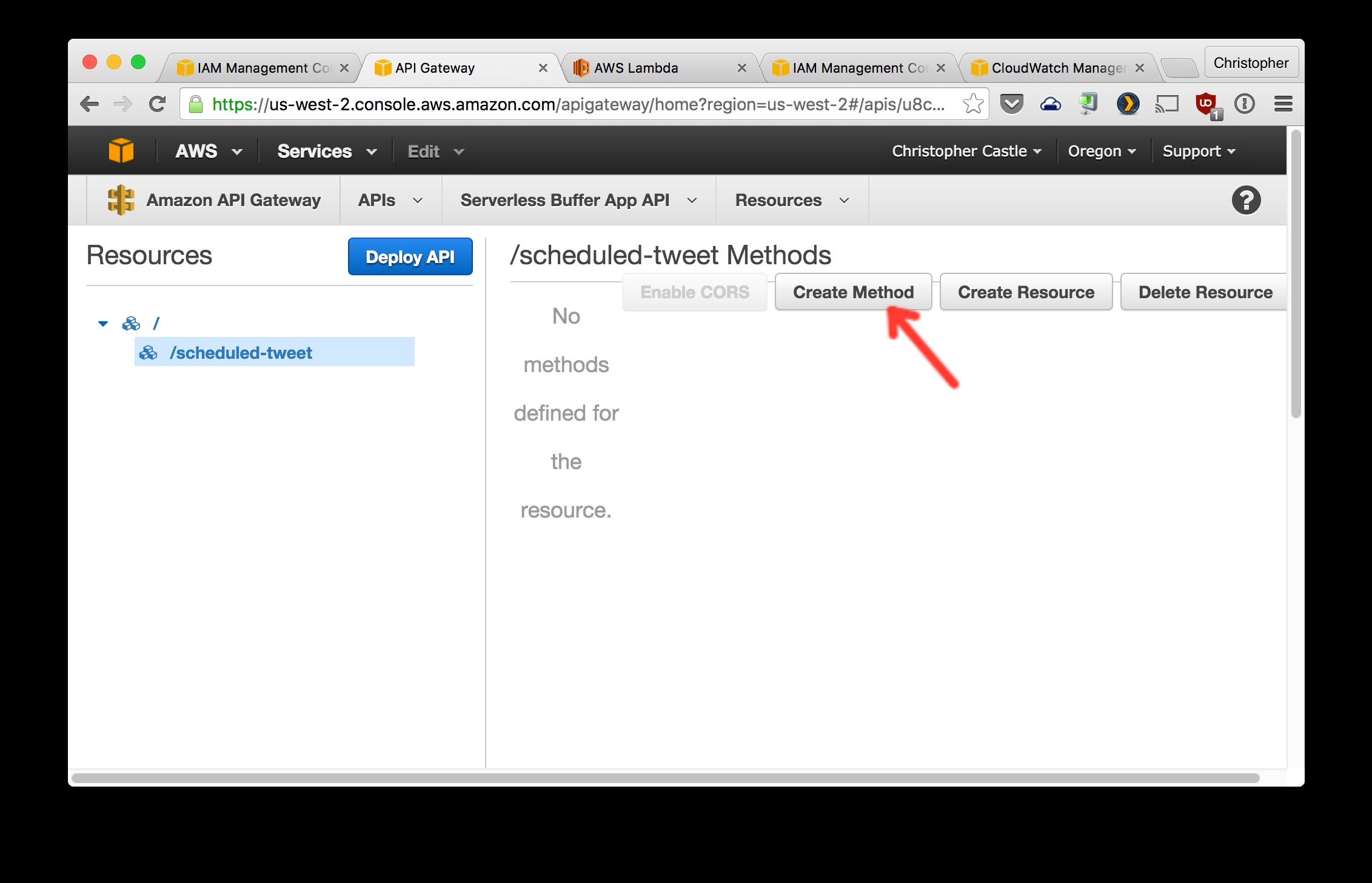 Serverless Buffer App clone