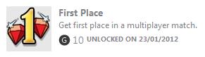 1st Achievement