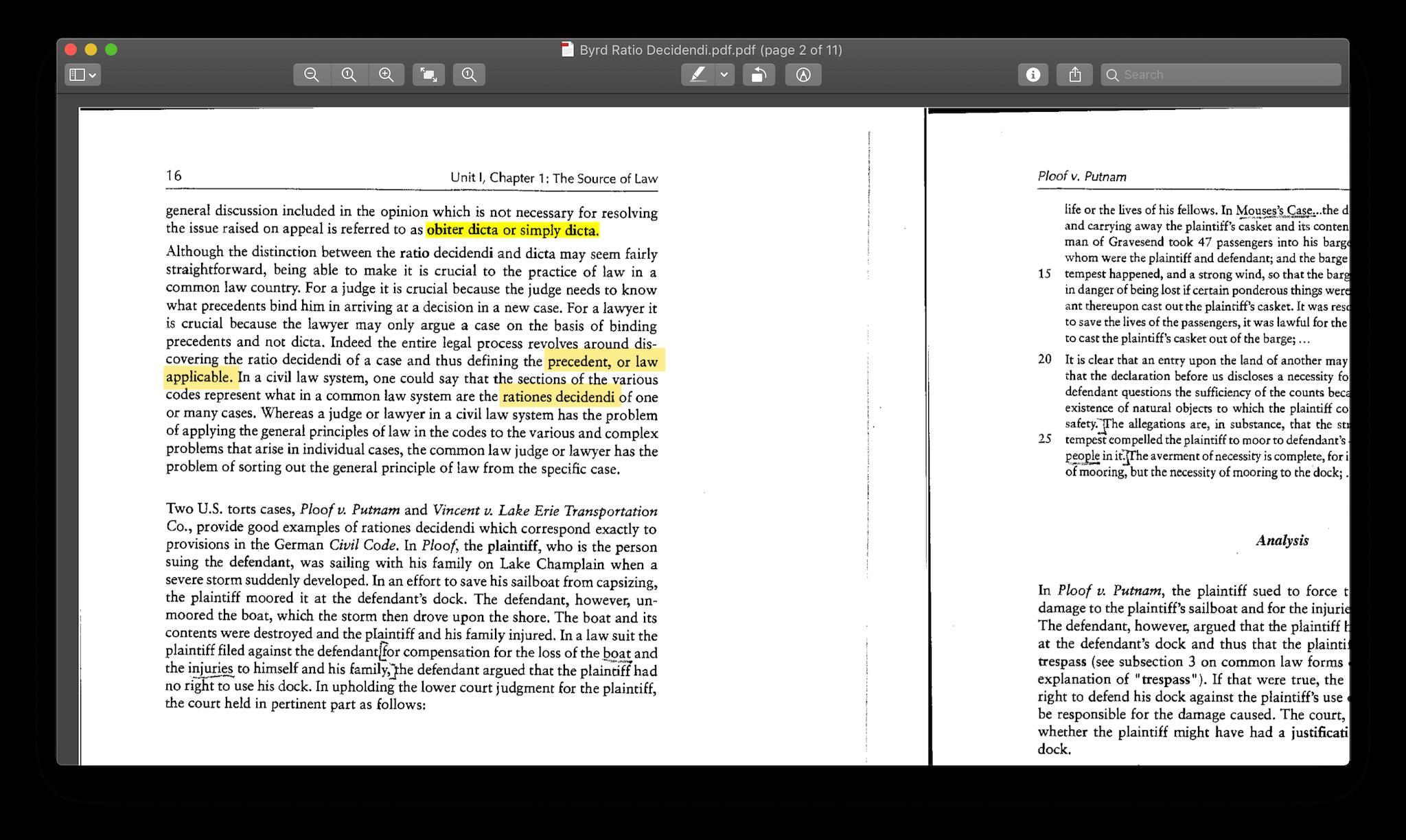 经过 OCR 处理的扫描版 PDF 同样可以选中和复制