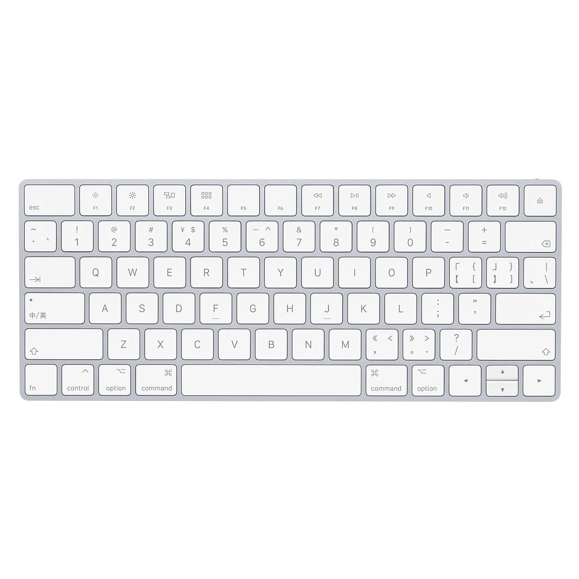 Mac 产品的新中文键盘布局(来源:Apple)