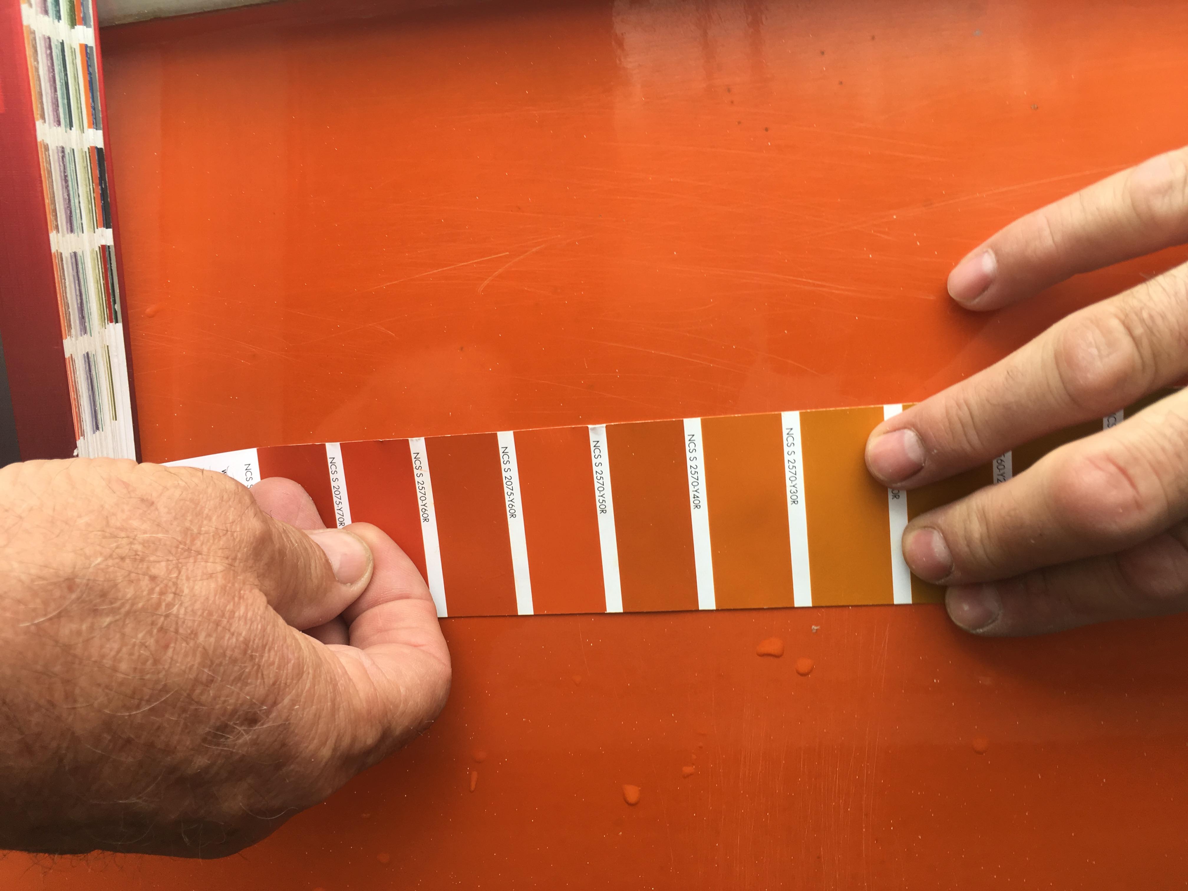 1977 Sangria GTE - Orange RAL Paint code? - 1977 Sangria GTE - Orange RAL Peinturez le code? IMG_9771