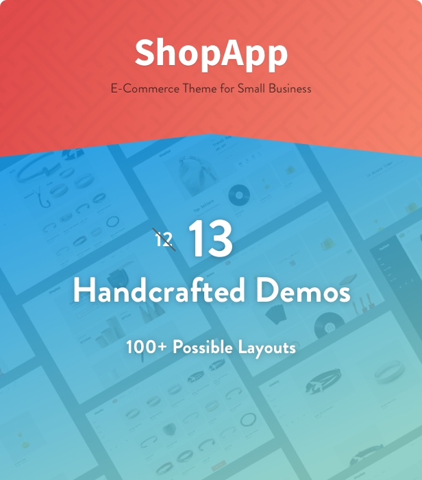 ShopApp - WordPress Theme for Small Business - 1