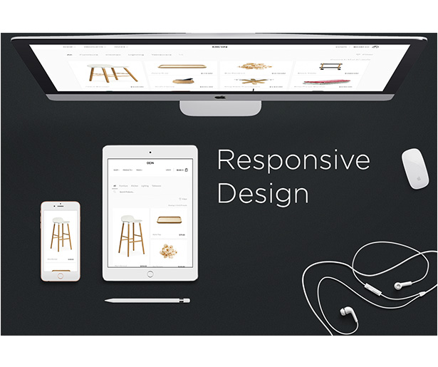 Ocin - Responsive WordPress WooCommerce Theme - 1