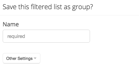 Group name