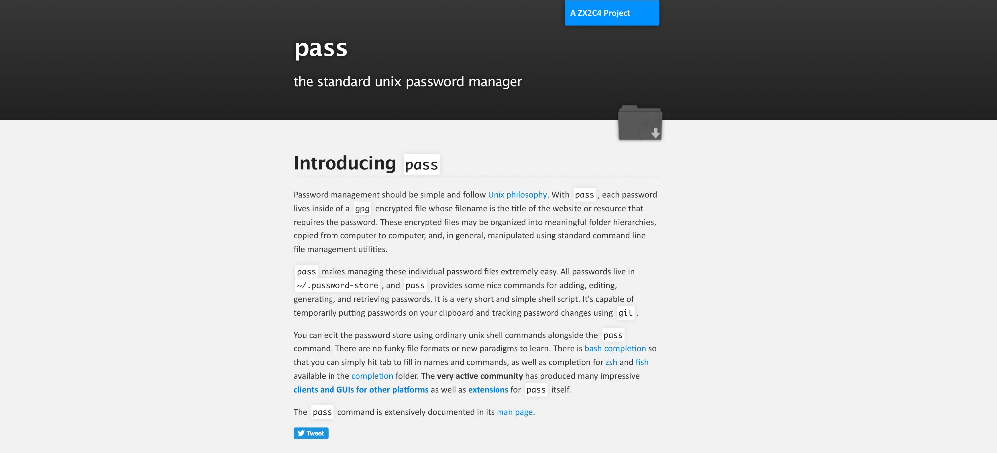 passwordstore